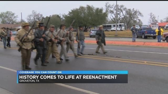 History comes to life with Groveton Civil War reenactment