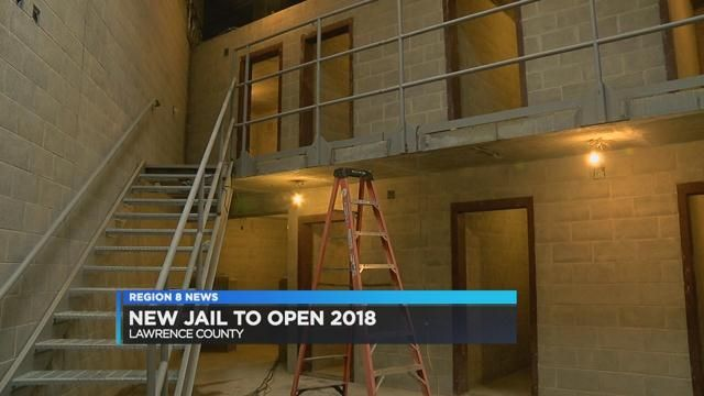 New Lawrence County jail prepares to open