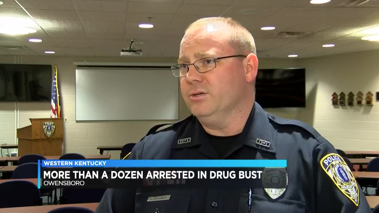 15 arrested on drug charges after sweep in Owensboro