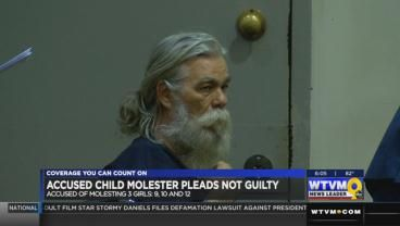 Accused child molester makes first court appearance
