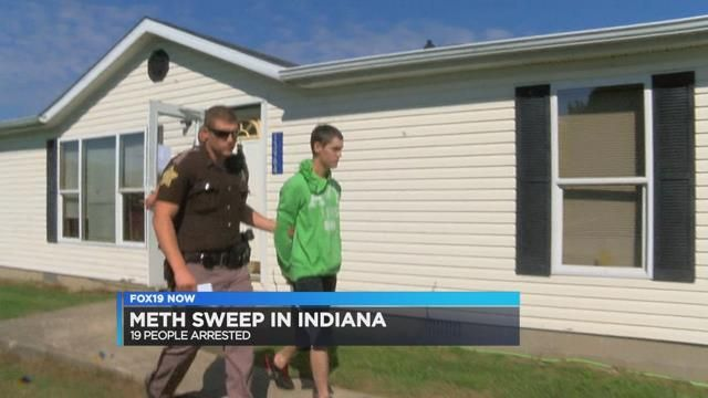 Drug bust targets 27 suspects in four Indiana counties