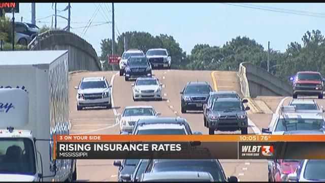 Rising car insurance rates to hit Mississippi motorists