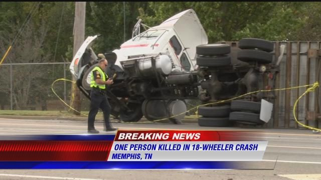 One person killed in tractor trailer-involved crash