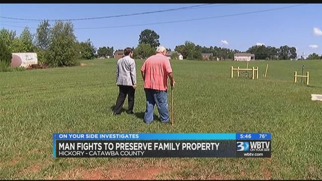 Family fights utility over land value