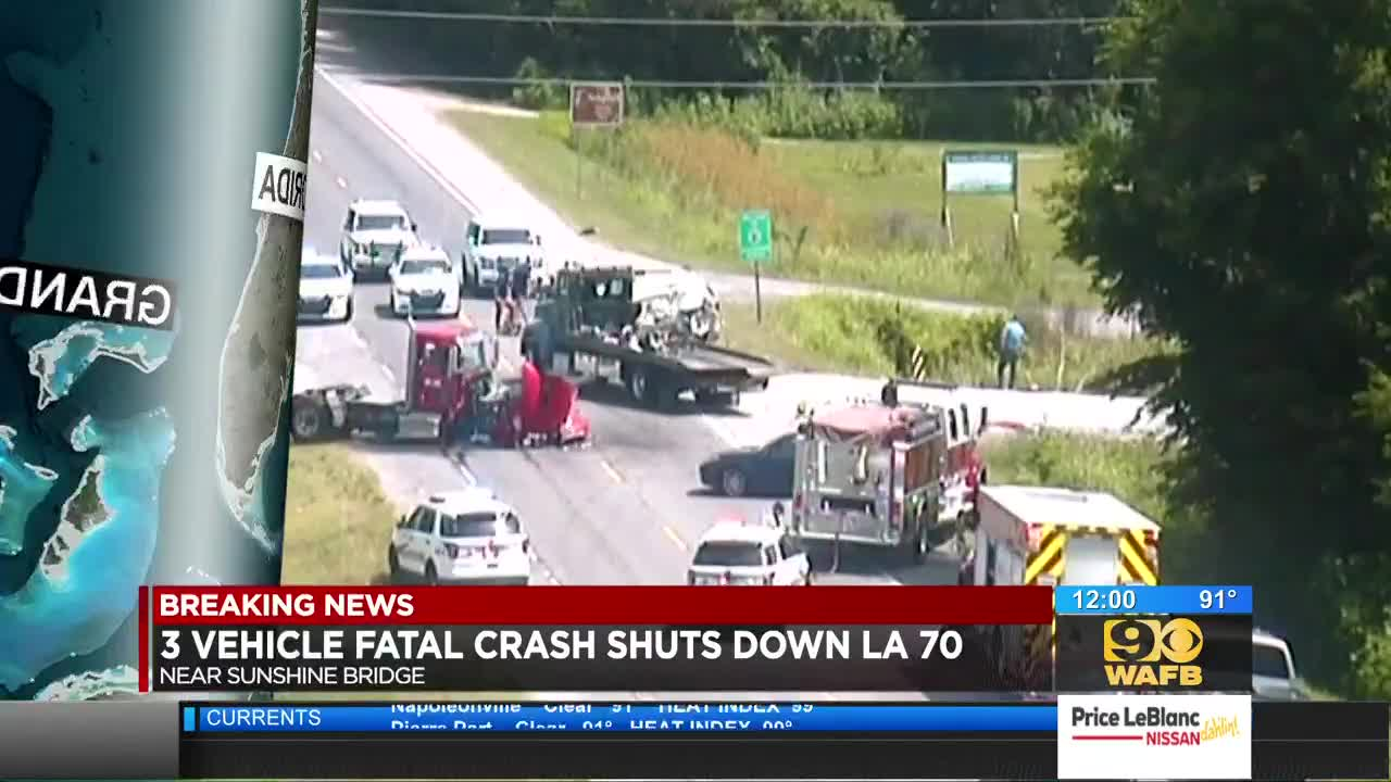 1 killed in wreck on LA 70 in St  James Parish