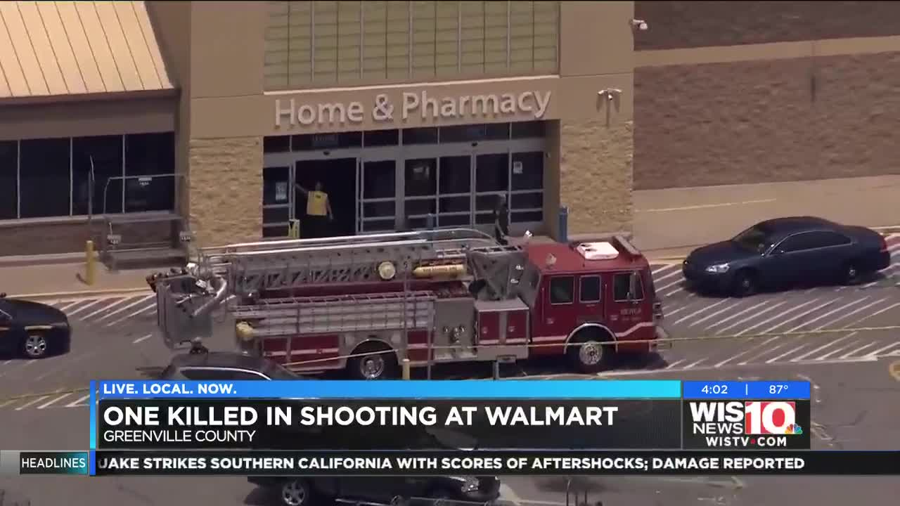 Man charged after deadly shooting at Greenville County Walmart