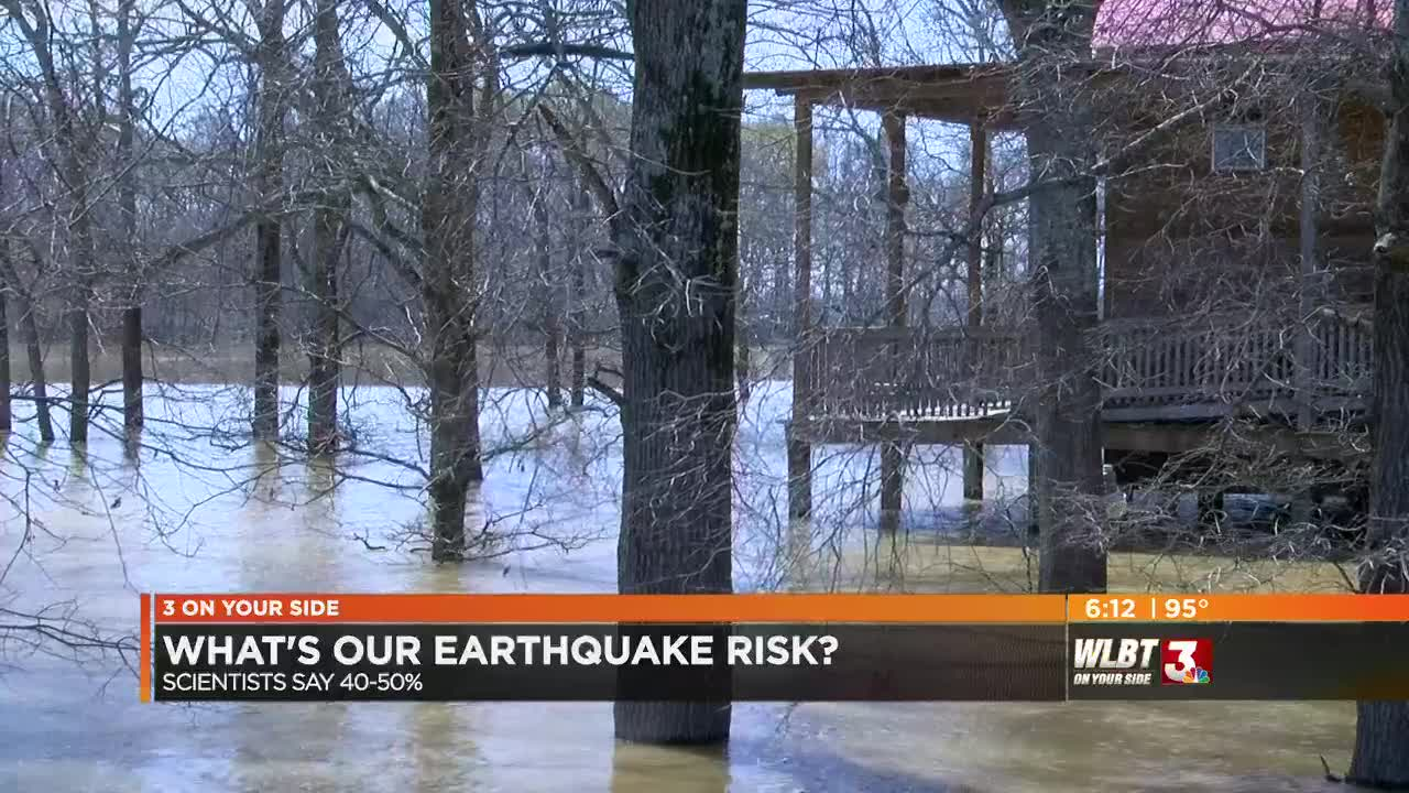 New Madrid Fault could create a sizable earthquake, Mississippi