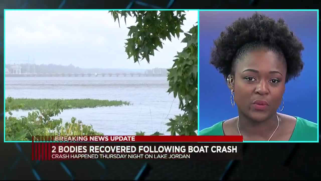 UPDATE: Second body of 2 missing boaters in Lake Jordan