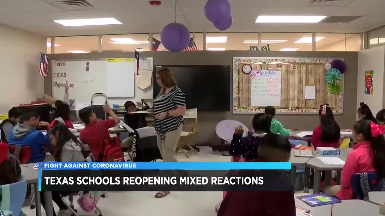 Reopening Of Texas Schools Leads To Competing Emotions