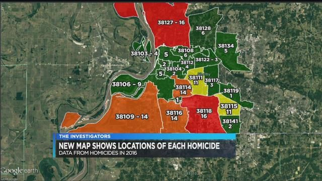 Mpd Murder Map Reveals Most Deadly Areas In The City