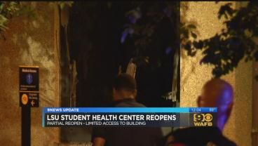 LSU Student Health Center opens with limited appointments