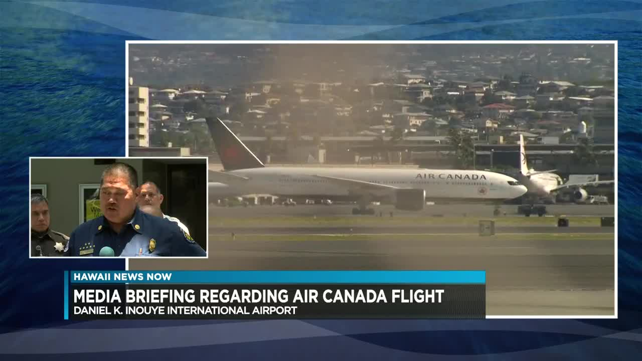 Air Canada flight diverts to Honolulu after severe