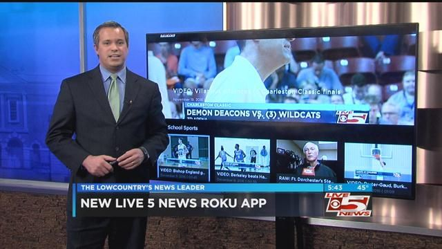 You can now watch Live 5 News on Roku