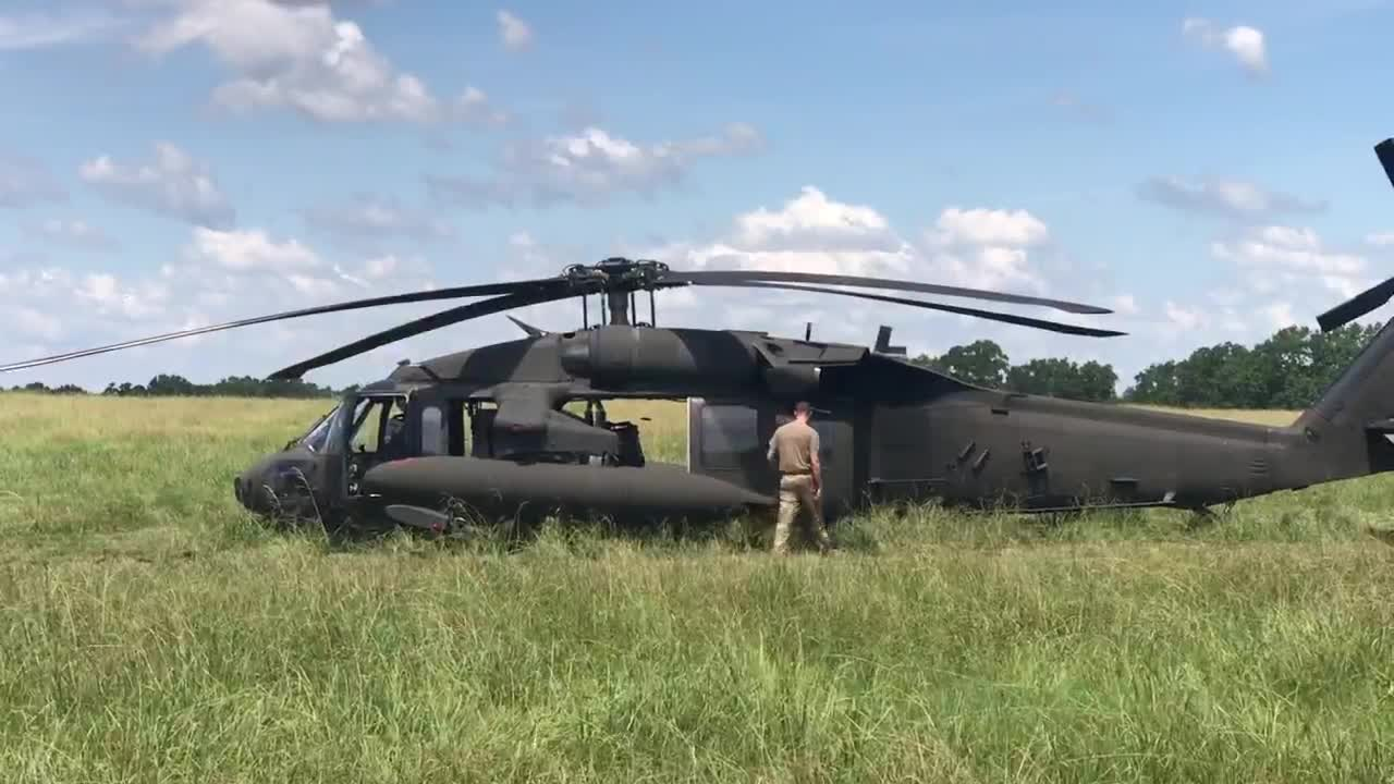Owners of pasture said Black Hawk couldn't have landed in a