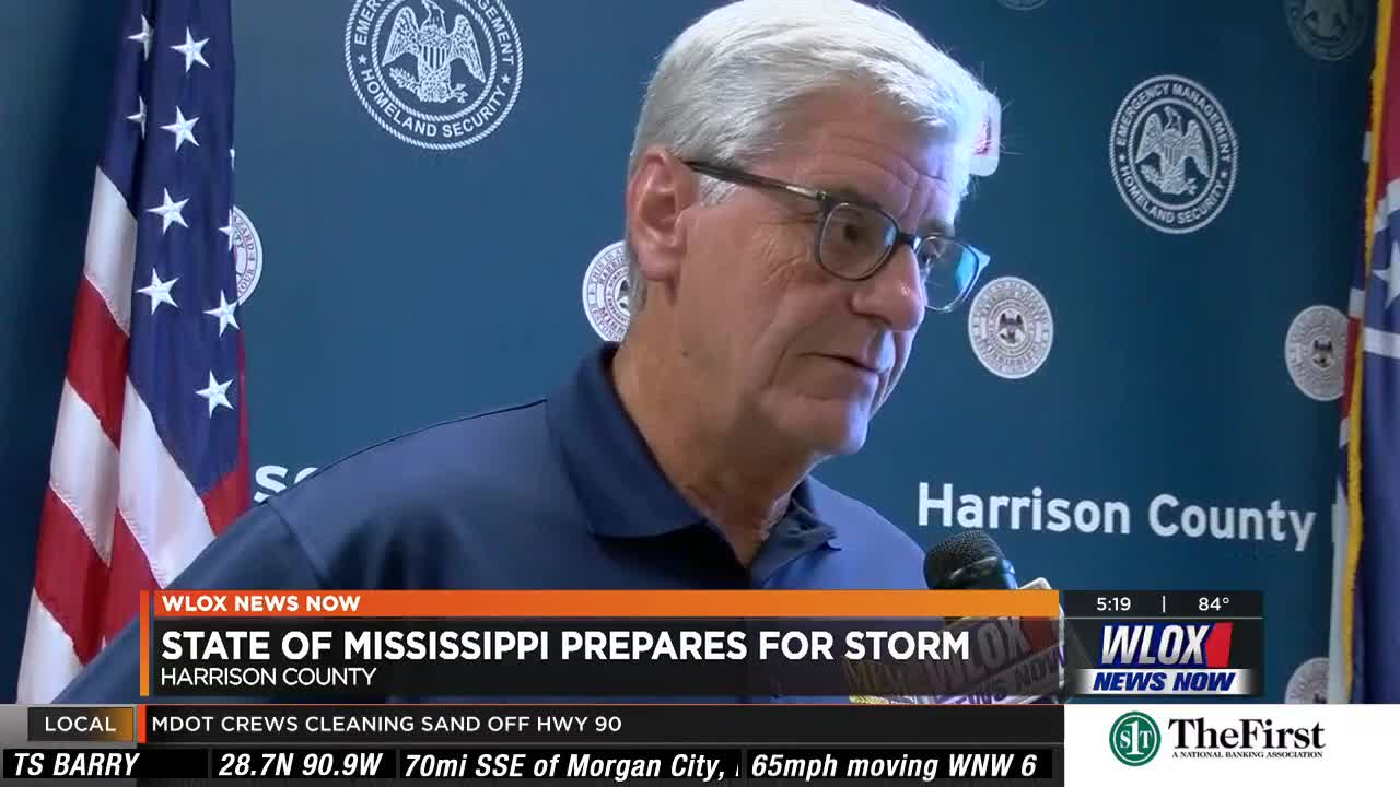 Gov  Bryant voices concerns for Gulf Coast ahead of Barry's