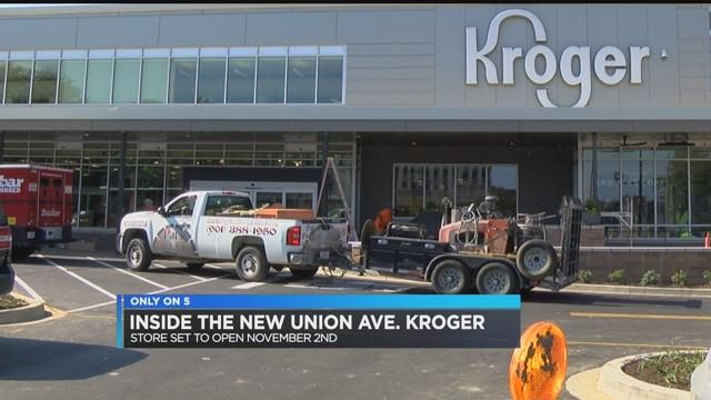 FIRST LOOK: Go inside Union Avenue Kroger