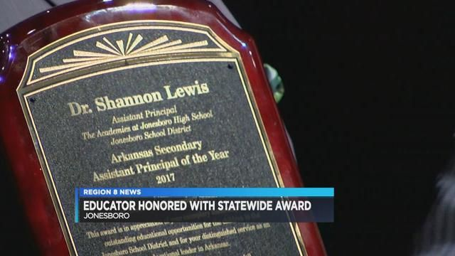 Educator Receives Assistant Principal Of The Year Award