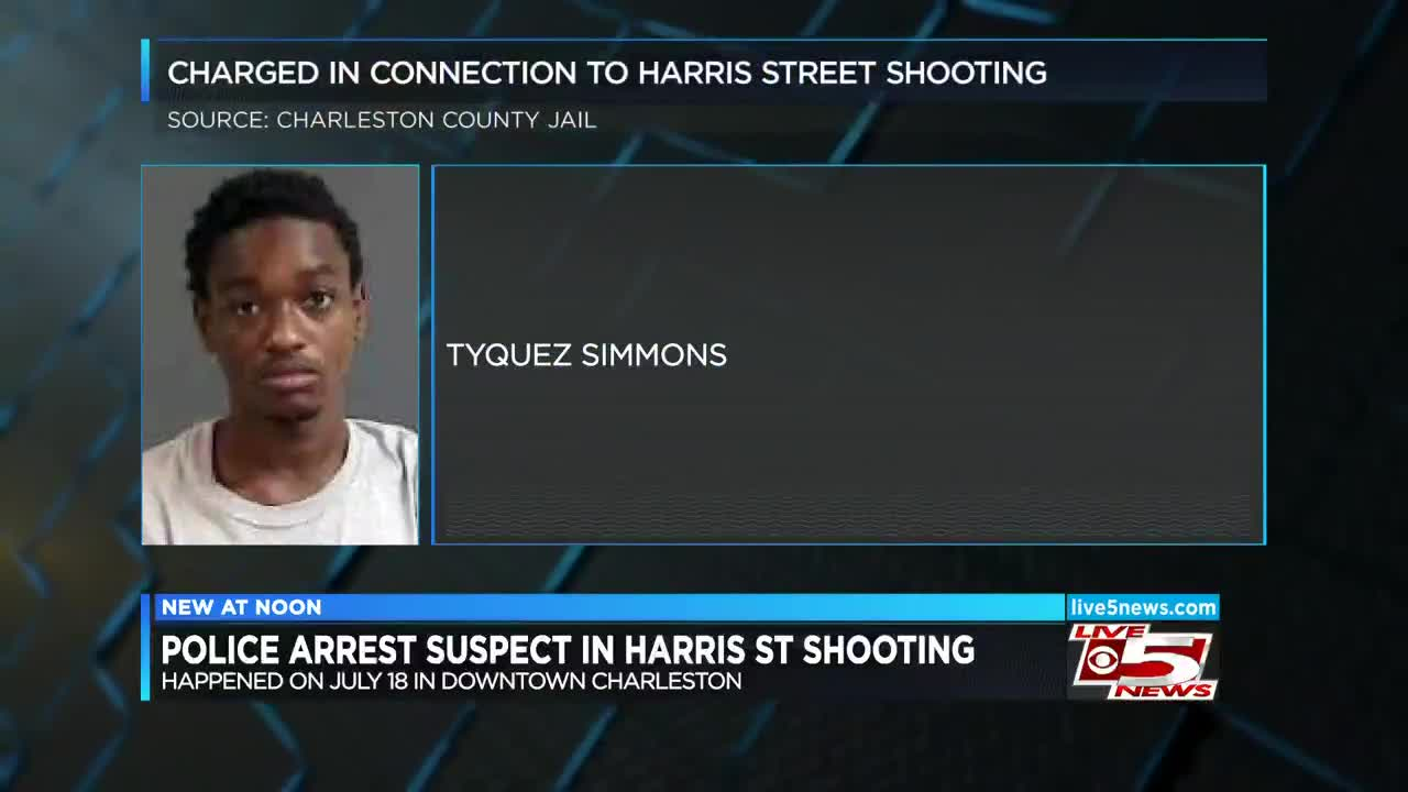 Police arrest suspect in fatal June shooting in downtown Charleston