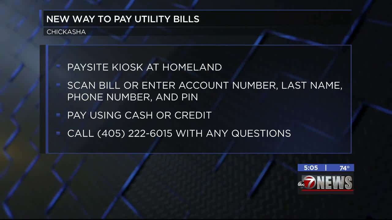 City of Chickasha introducing new way to pay utility bills