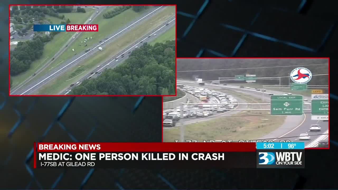 Man killed, another seriously injured in crash on I-77 in