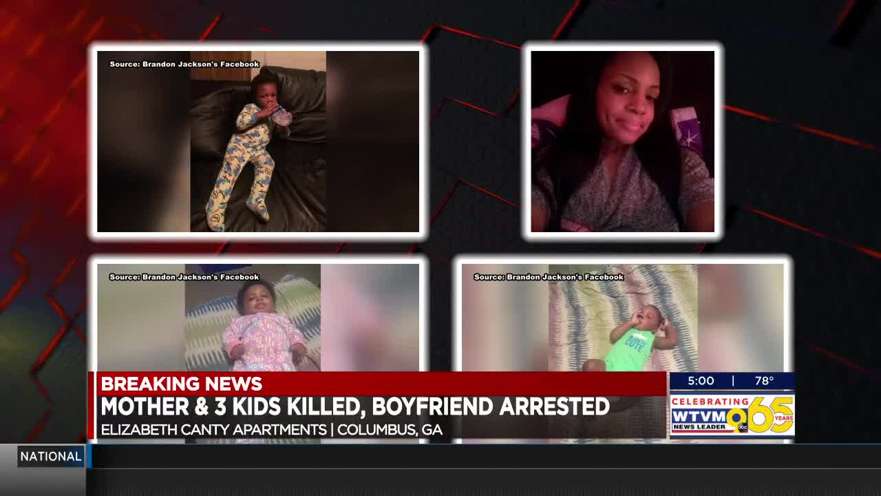 Ga  mother, three children stabbed to death in gruesome quadruple