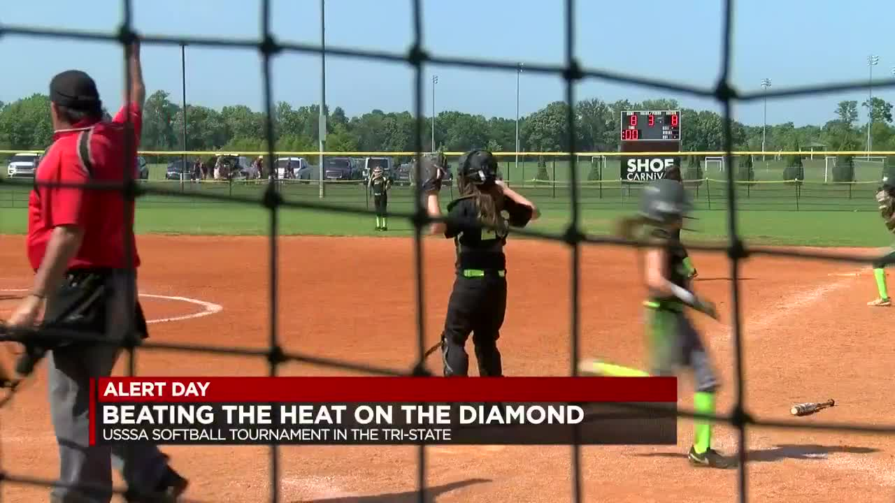 Plans in place for extreme heat during softball tournament