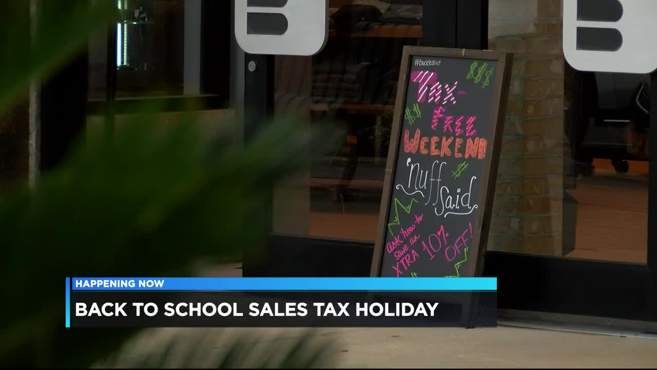 Record-breaking crowds expected for Alabama's tax-free weekend