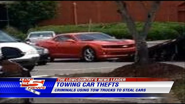 Police Thieves Using Tow Truck Companies To Steal Cars