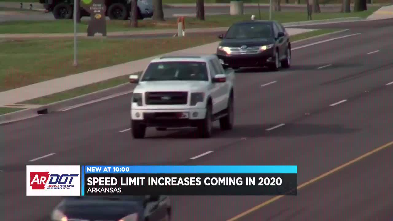 Speed limits increasing on some Arkansas roads