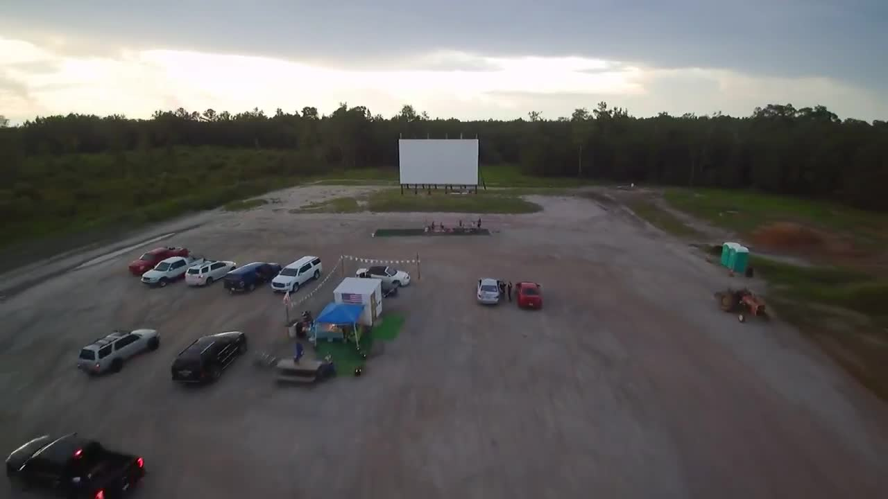This Is Carolina Woman Engineers Builds Newest Drive In Movie Theater Like A Soup Bowl