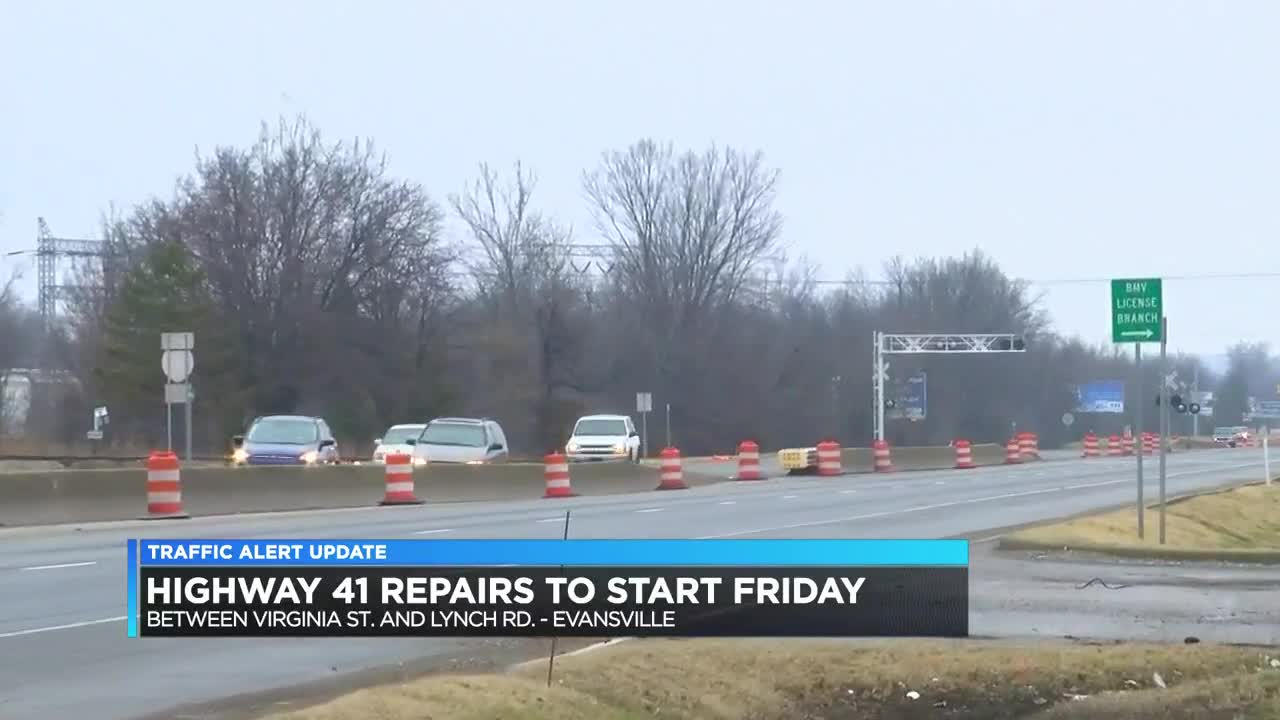 Work on Hwy-41 section expected to start Fri