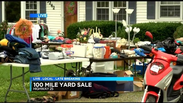 100-Mile Yard Sale set for Memorial Day weekend