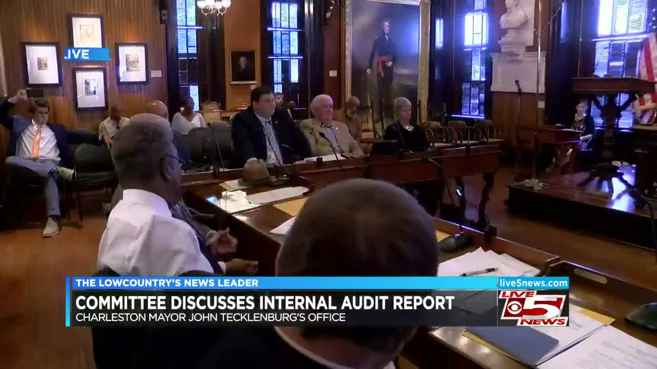 Committee discuses internal audit being done on Charleston
