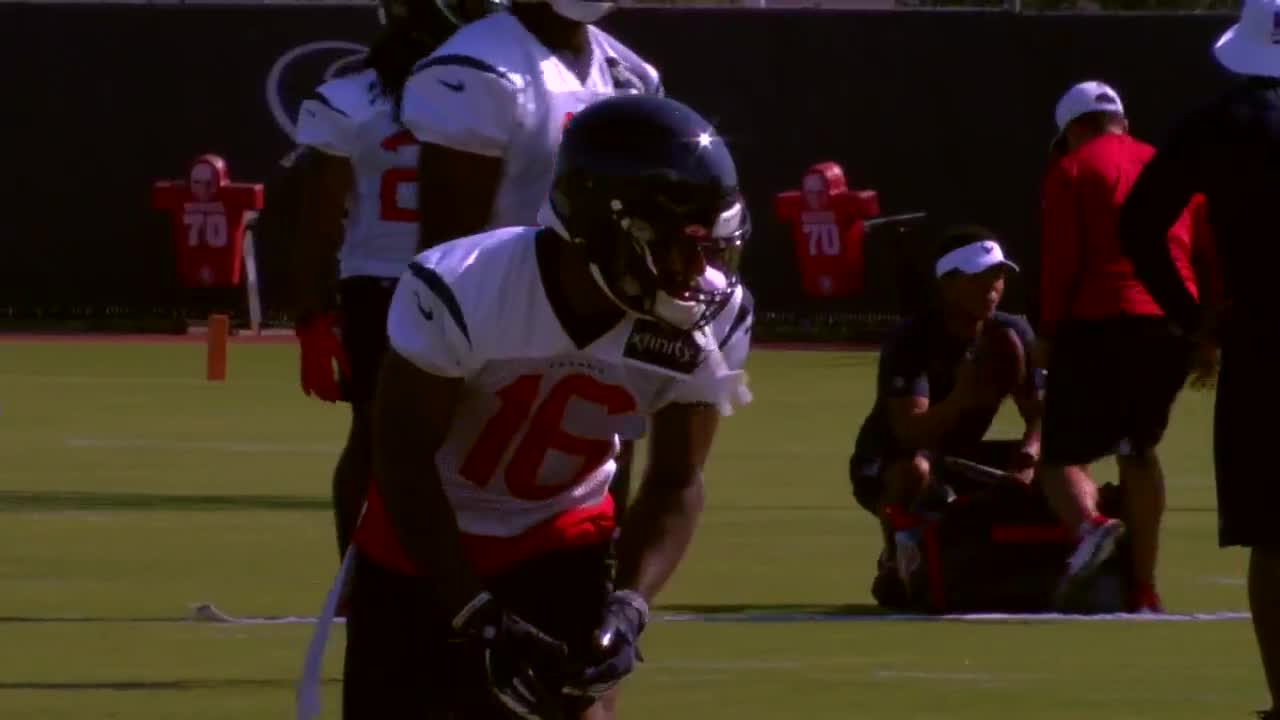 buy popular 799ee faced WEBXTRA: Keke Coutee chats after day one at Texans Camp