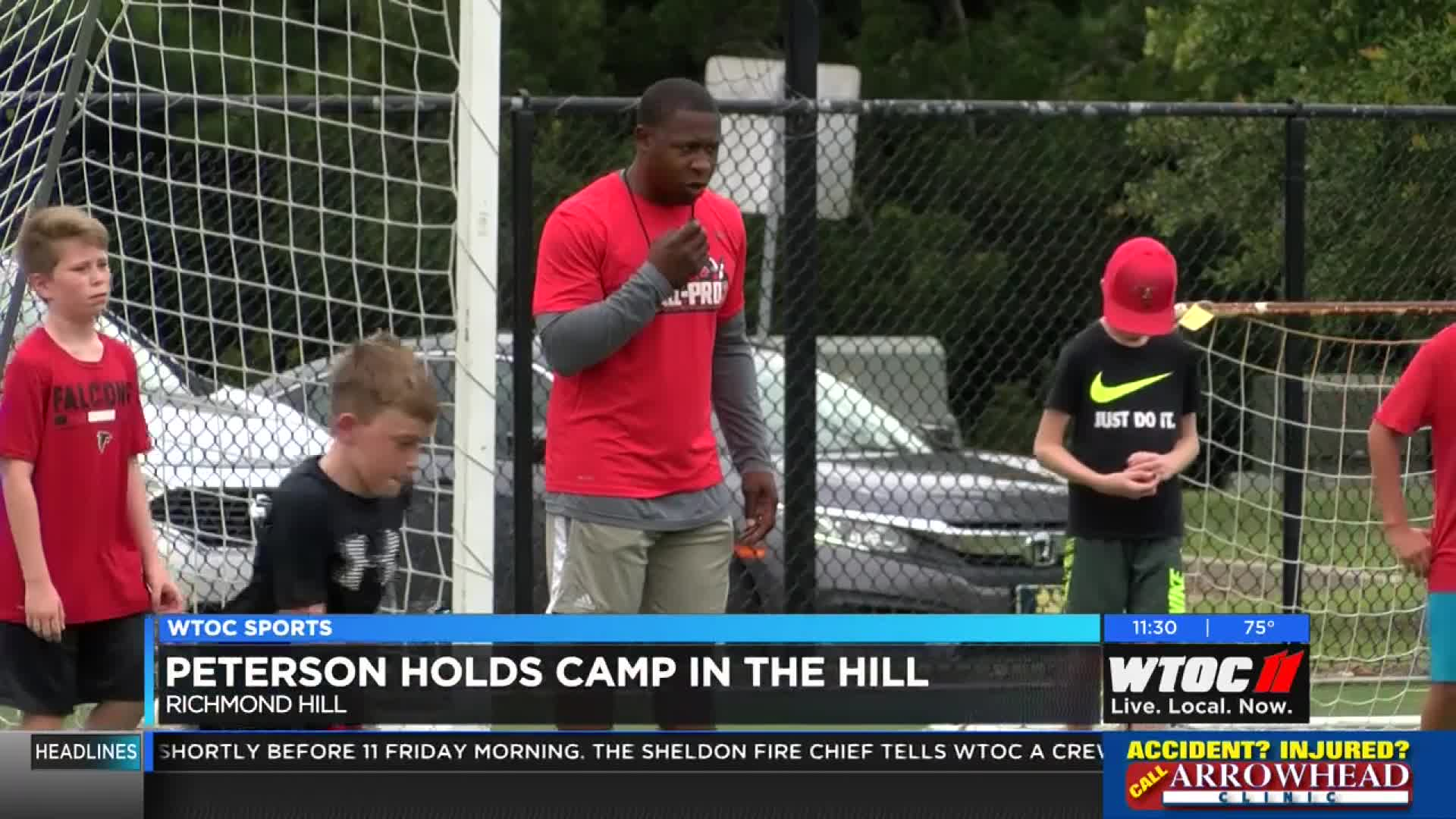 Peterson gets down to fundamentals in Richmond Hill
