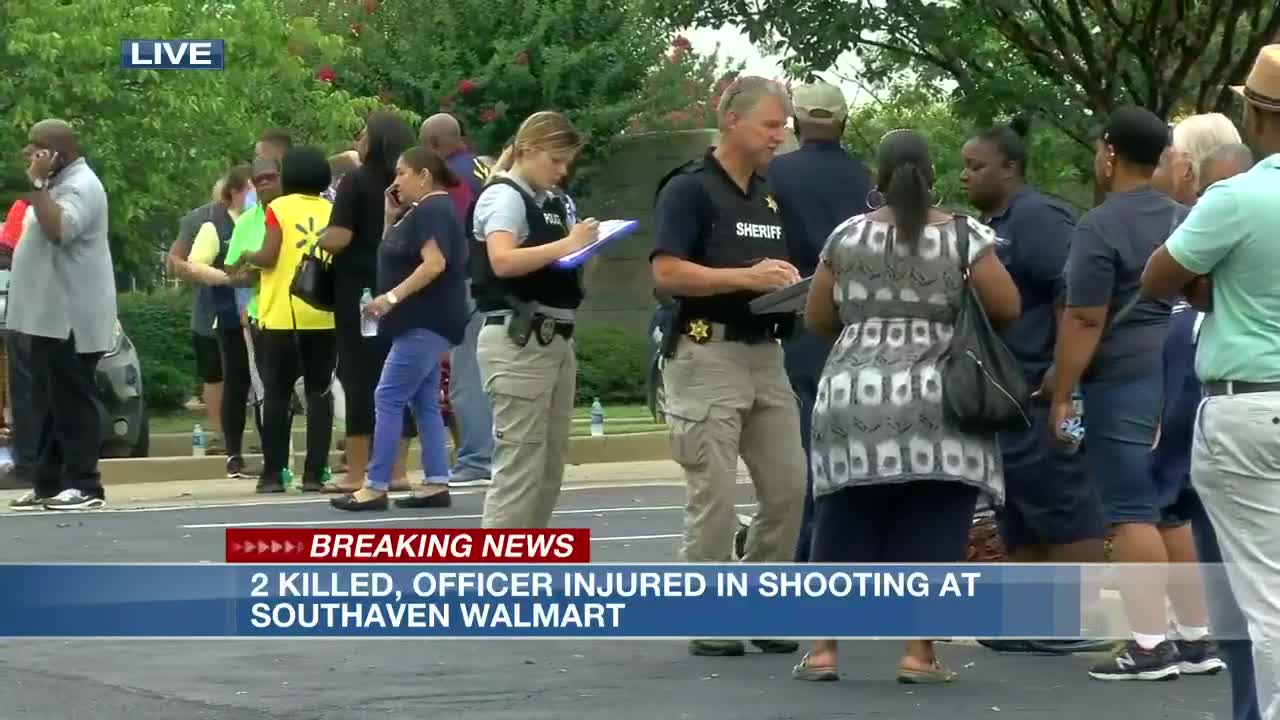 Coroner identifies victims in Southaven Walmart shooting