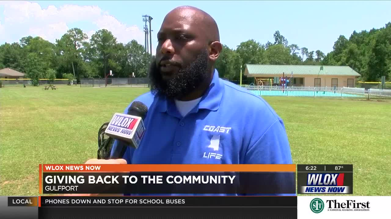 Gulfport man to donate school supplies to community where he
