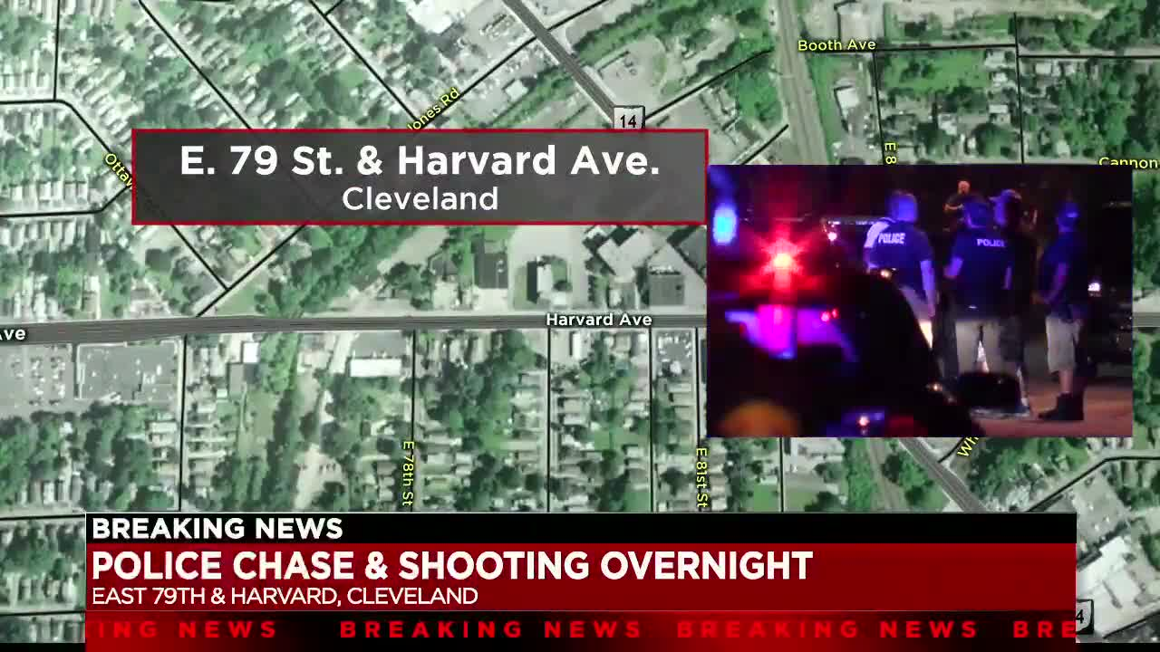Cleveland police arrest teen following early morning chase, shooting
