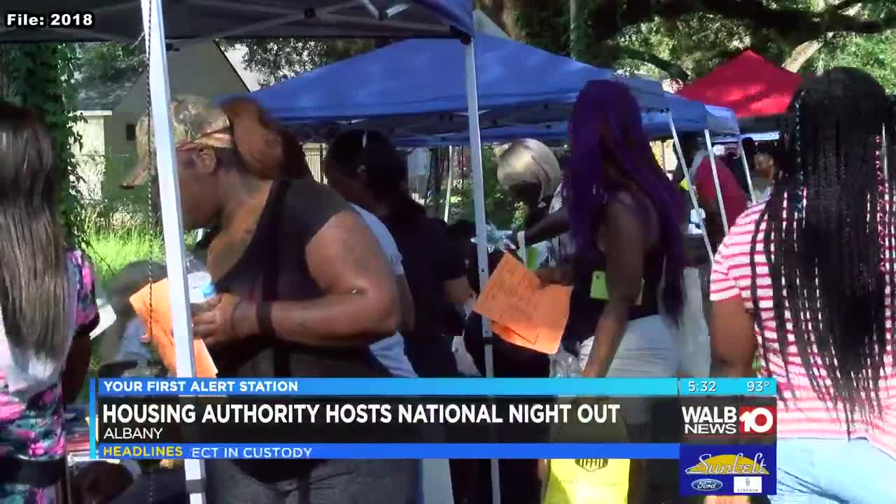 Albany Housing Authority hosting National Night Out with