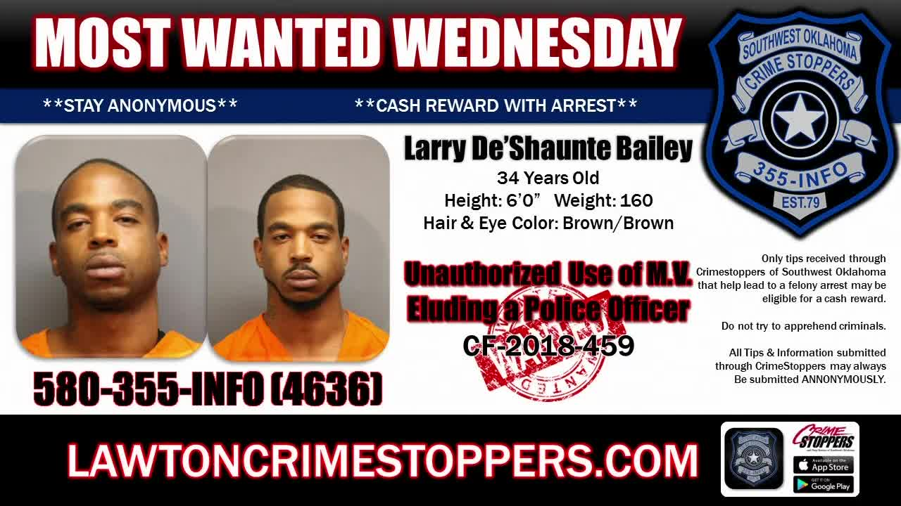 Most Wanted Wednesday: July 31