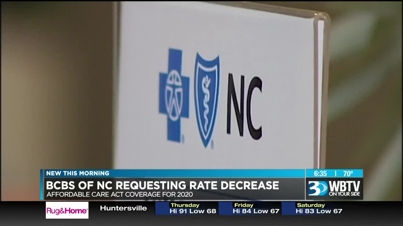 Blue Cross NC is seeking approval to lower Obamacare rates