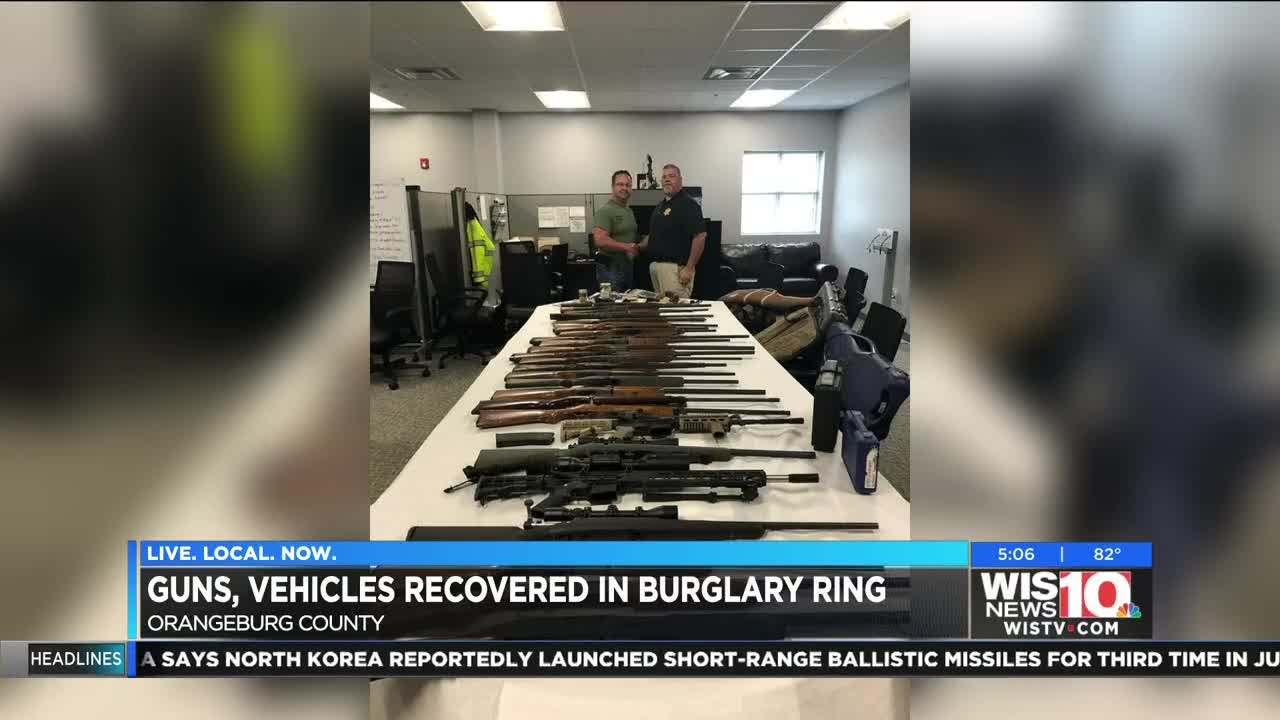 Authorities recover 30 guns, other stolen items in multi-county