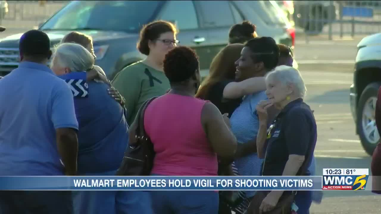 Candlelight vigil held to honor Southaven Walmart shooting