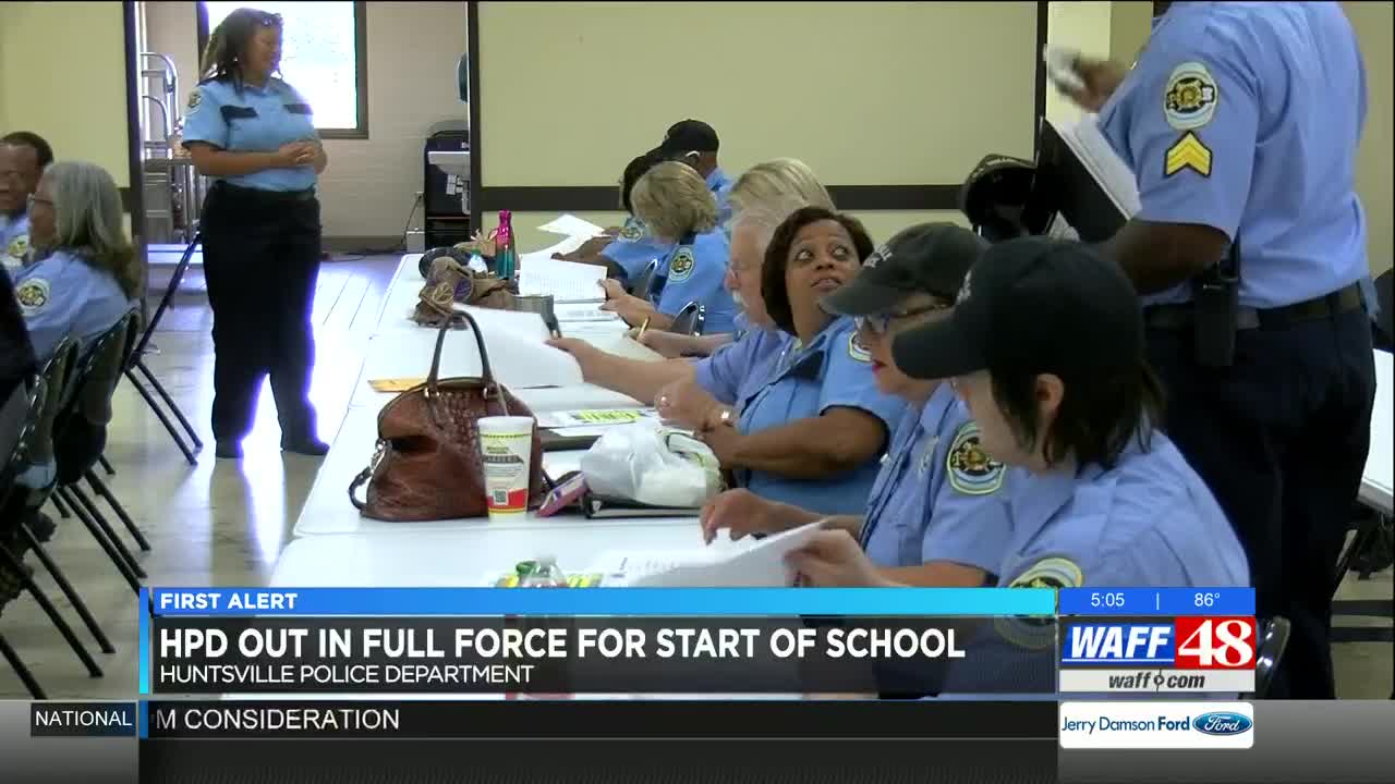 HPD will be out in full force for back-to-school traffic safety