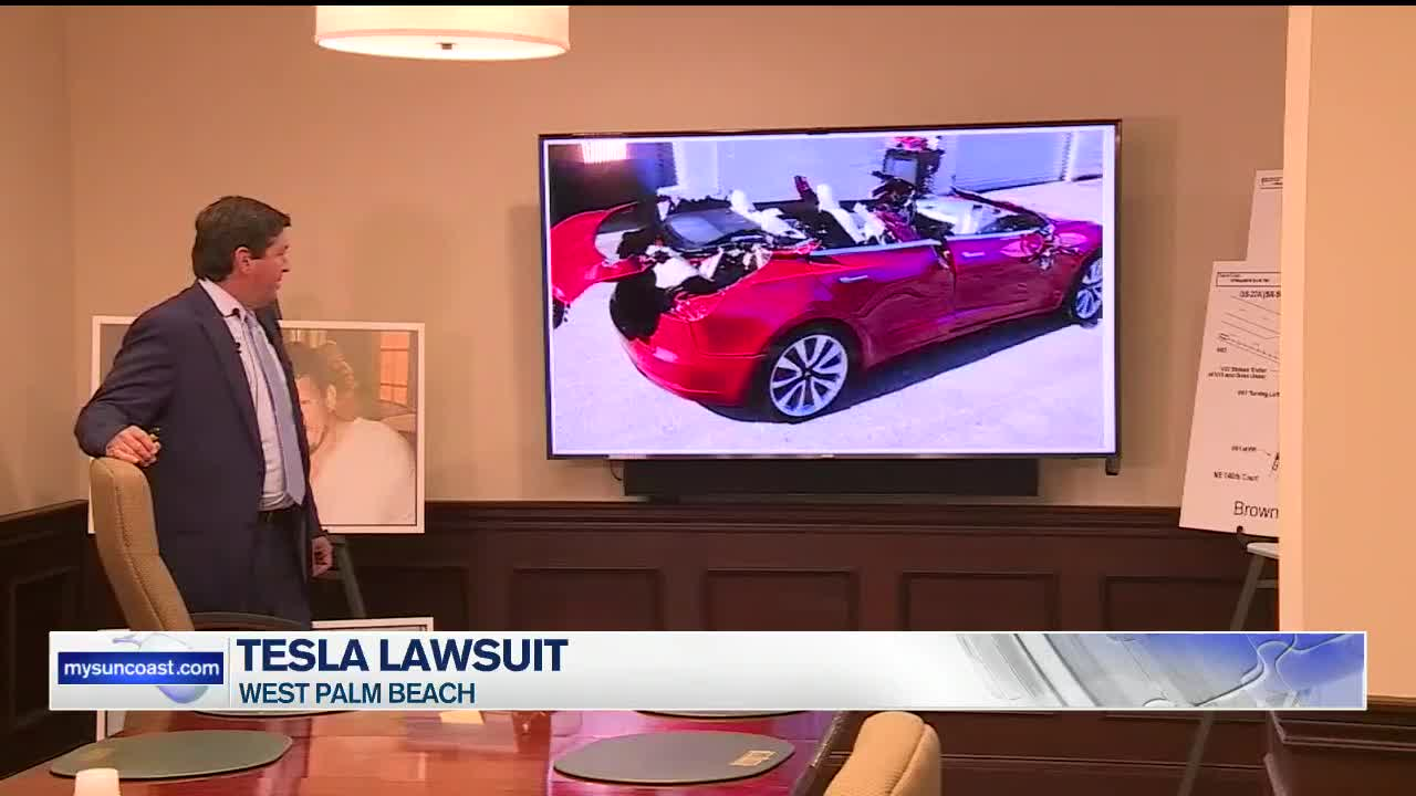 Tesla facing another lawsuit for deadly crash caused by