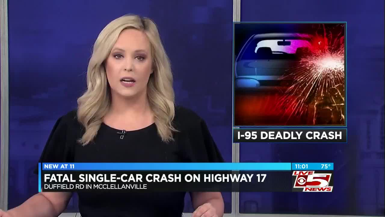 One dead in crash on I-95 in Dorchester County