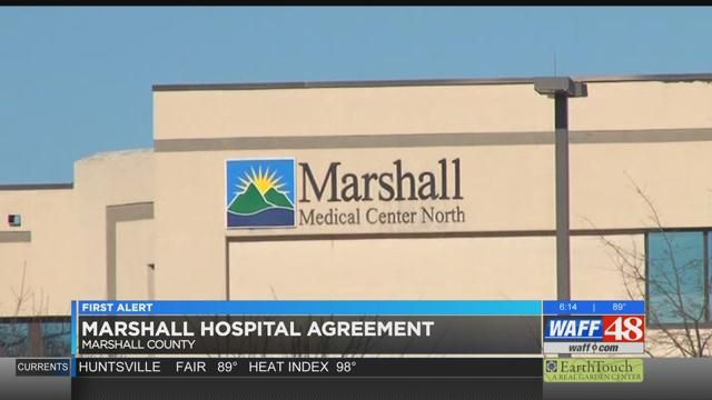 Upgrades For 2 Marshall County Hospitals Following Huntsville