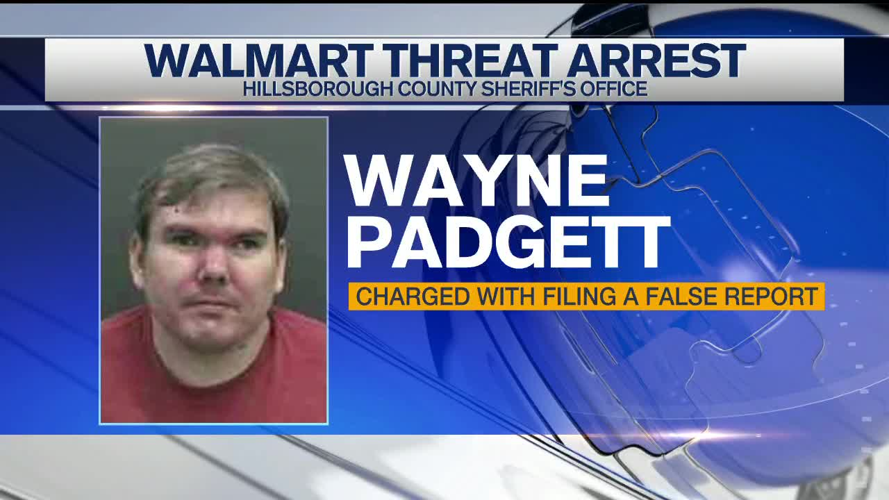 Man charged with threatening massacre at Walmart in
