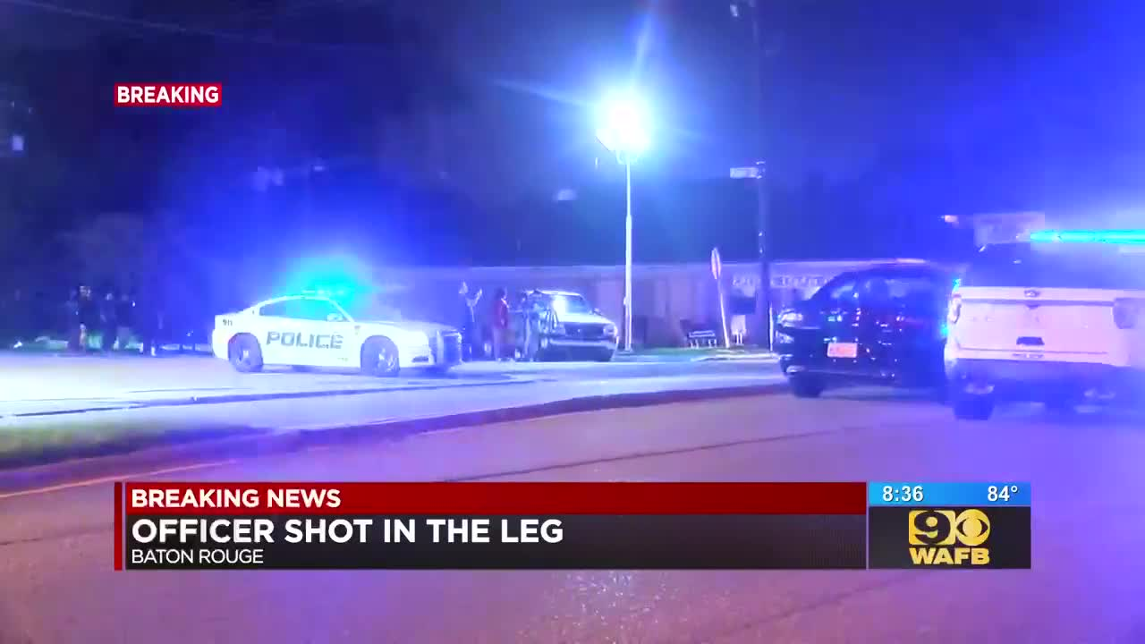 BRPD officer injured while responding to domestic dispute