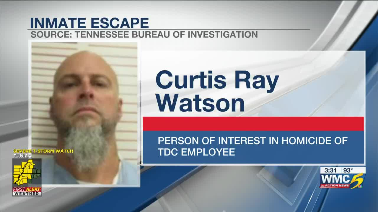 Escaped inmate on run after correctional administrator found